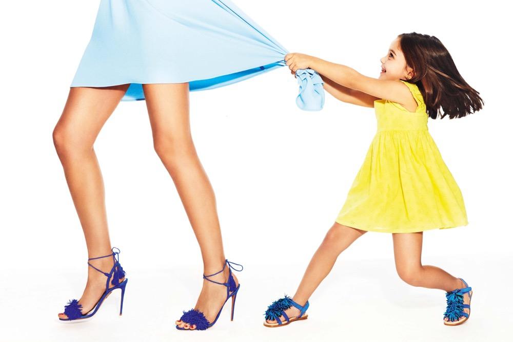 Koleksi Sepatu Aquazzura untuk Si Kecil