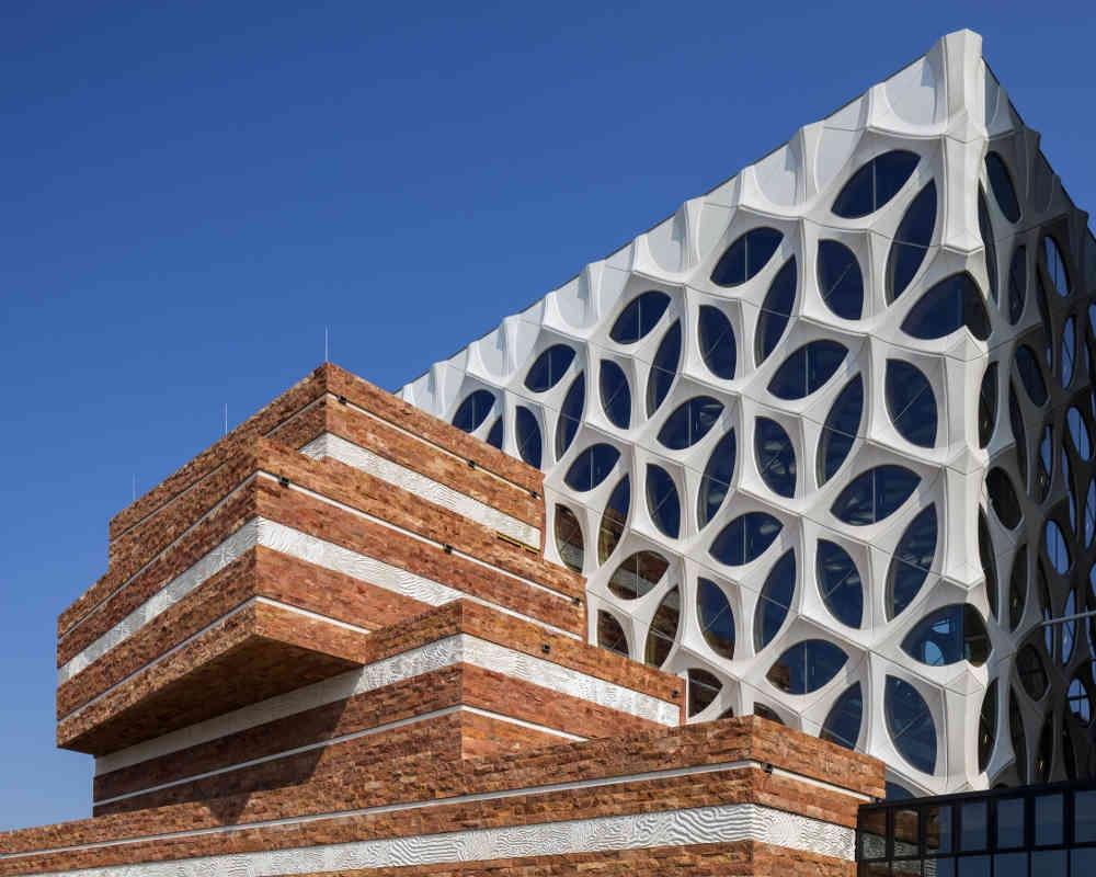 Museum Unik di Belanda Ini Terbuat dari Beton Marmer