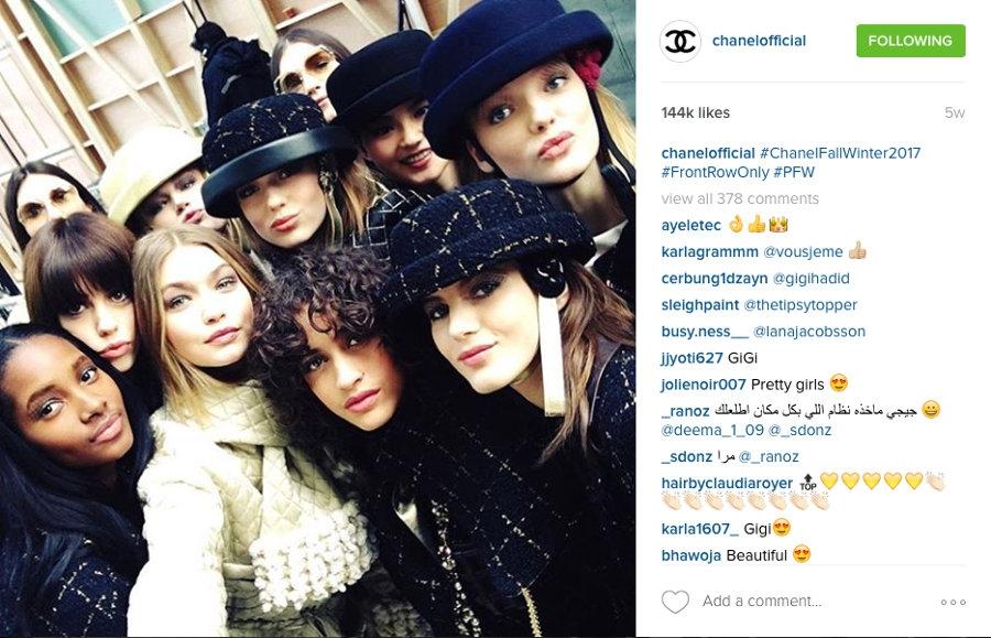 Akun Instagram Label Fashion Favorit