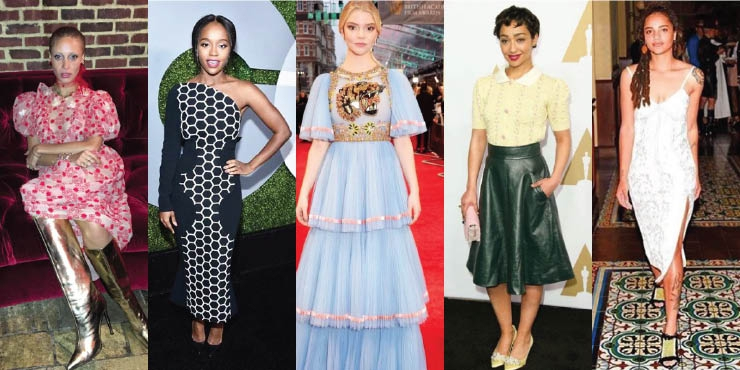 5 Aktris Baru Yang Fashionable Tahun 2017