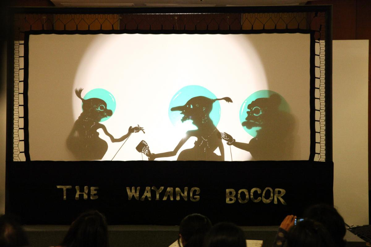 Kolaborasi Eko Nugroho dan Wayang Bocor