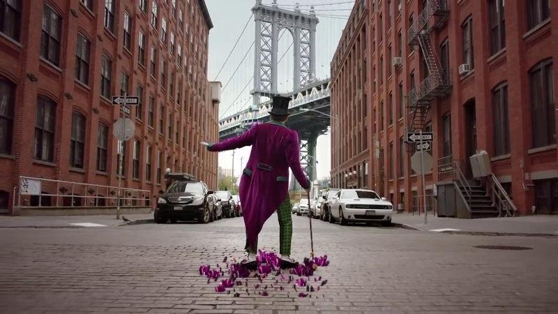 Aksi Willy Wonka di Panggung Broadway
