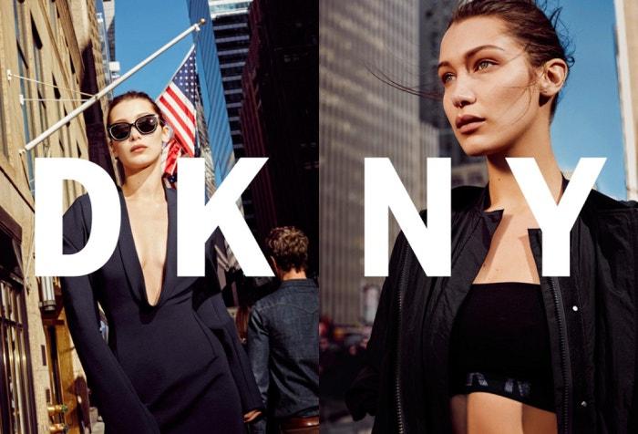 Bella Hadid, Wajah Terbaru Kampanye DKNY