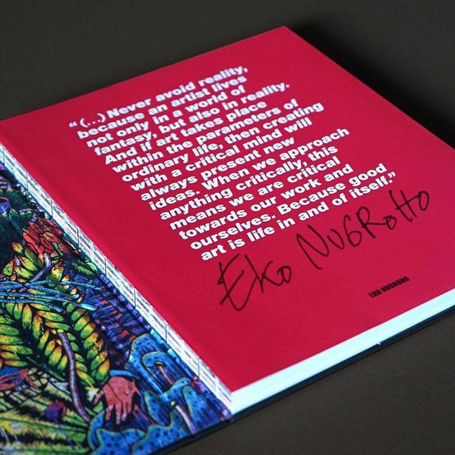 Dua Karya Baru Dari Seniman Eko Nugroho di Buku Terbarunya