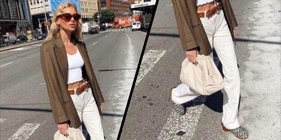 Elsa Hosk dan Dior Memulai Tren Sepatu Clogs