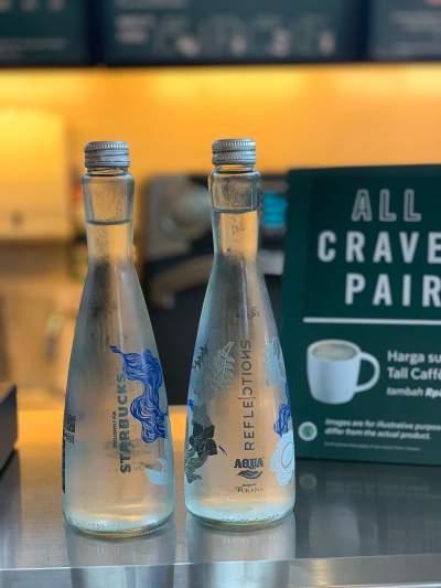 Kolaborasi Eksklusif Aqua Reflections untuk Starbucks