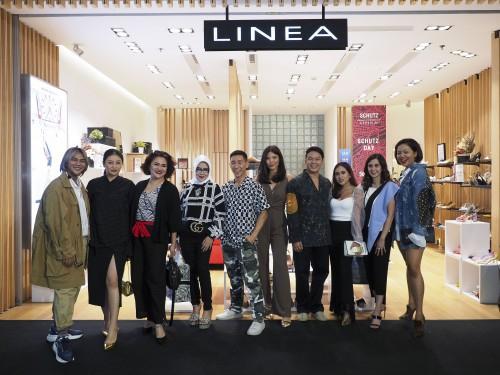 Keseruan Peluncuran Koleksi Sepatu Schutz di Butik Linea