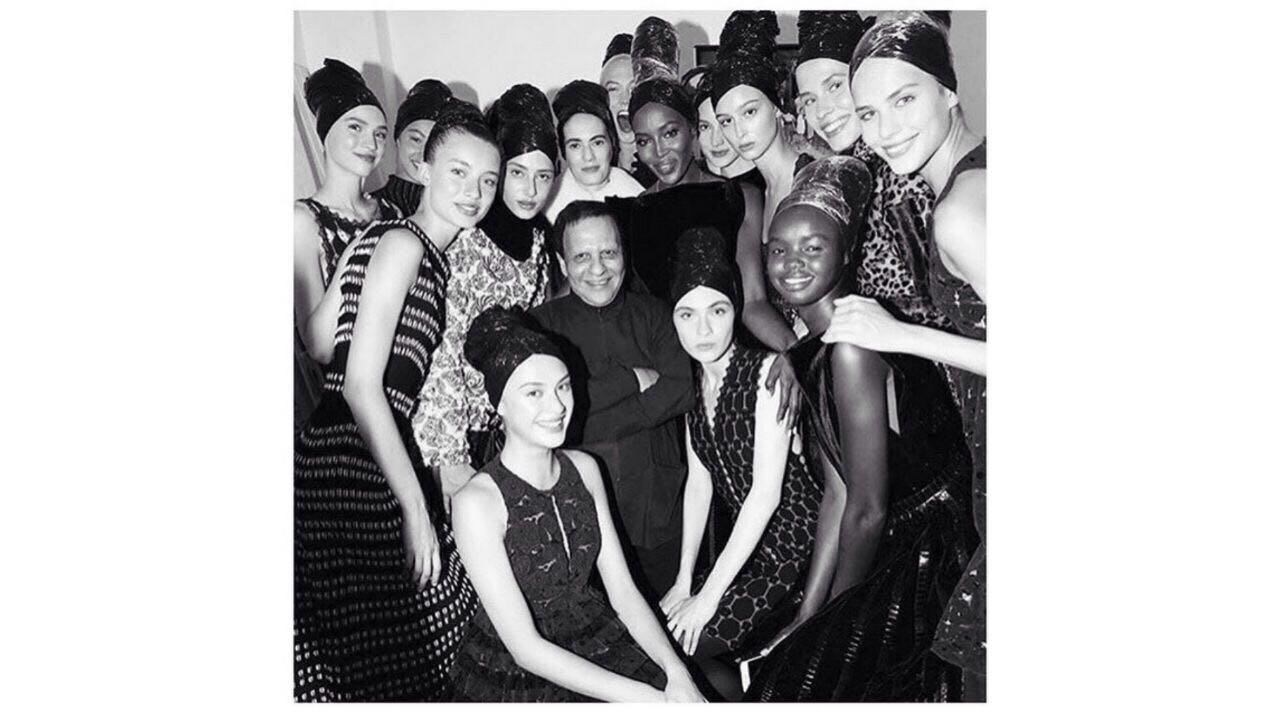 Azzedine Alaïa Kembali ke Panggung Couture