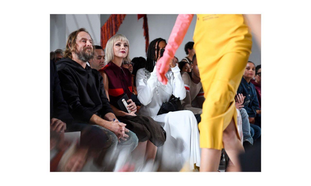 Kemeriahan Presentasi Calvin Klein di NYFW 2018