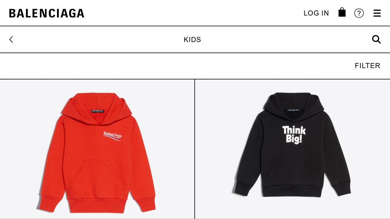 Koleksi Perdana Balenciaga Kidswear