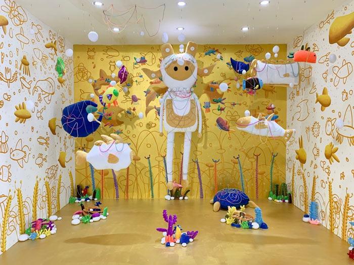 Pameran Seni Instalasi Pantene Perfect On Art Experience
