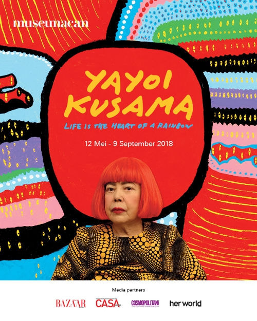Yayoi Kusama: Life is The Heart of A Rainbow