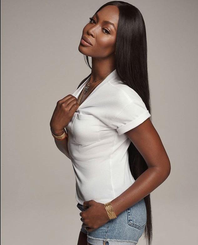 Naomi Campbell Kembali Bintangi Kampanye Gap