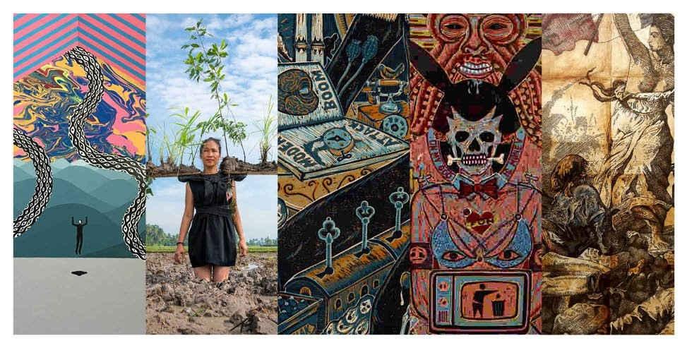 Seniman Indonesia Memamerkan Karyanya di Kota Paris