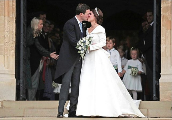 Royal Wedding 2: Fakta Gaun Pernikahan Putri Eugenie