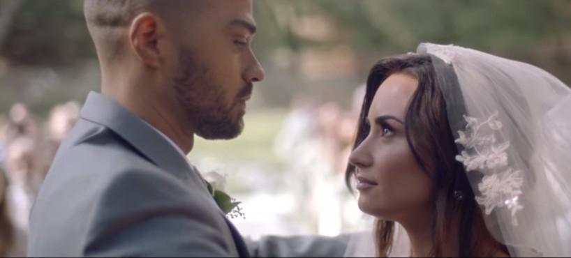 Demi Lovato Menikahi Jesse Williams di Video Musiknya