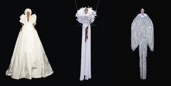 Presentasi Gaun-Gaun 4-5 Meter di Valentino Couture 2020