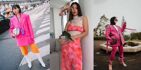 Inspirasi Gaya untuk Para Pencinta Warna Pink
