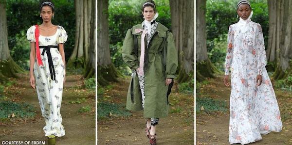 Tampilan Terbaik di London Fashion Week Spring 2021