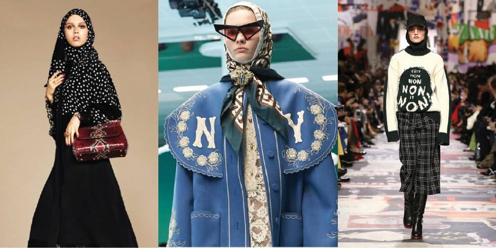 Intip Cara Berhijab Dari Panggung Mode Musim Ini