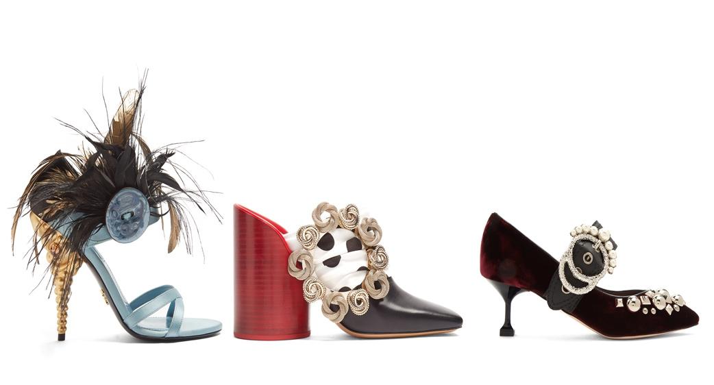 Curi Perhatian Lewat Sepatu Berdesain Mewah