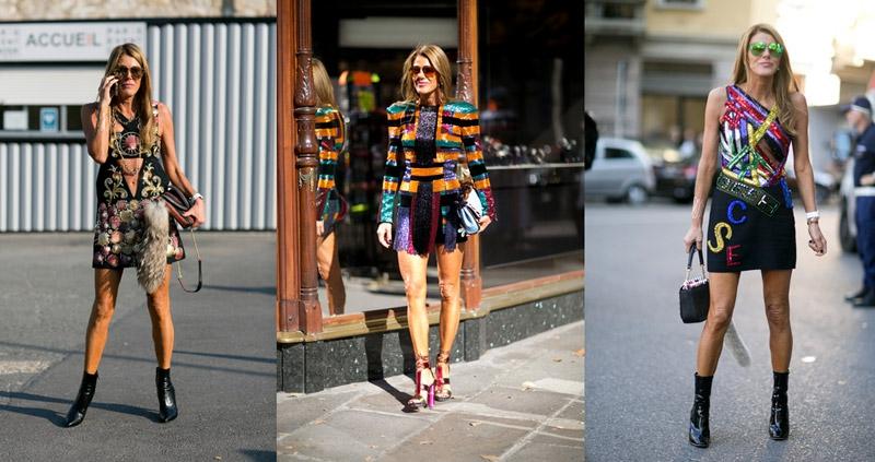 Anna Dello Russo Menjual Koleksi Fashionnya