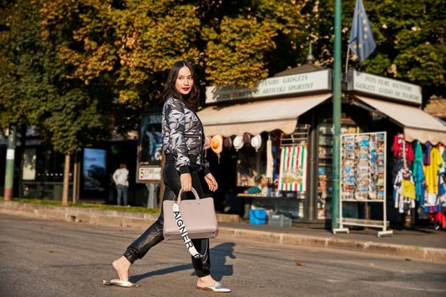 Tatjana Saphira Membintangi Kampanye Aigner