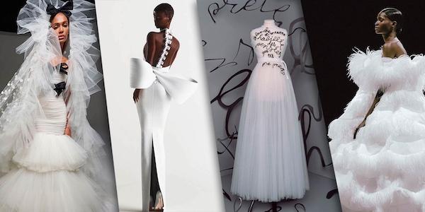 Putih! Jadi Tren Warna Couture di Musim Gugur/Dingin 2020