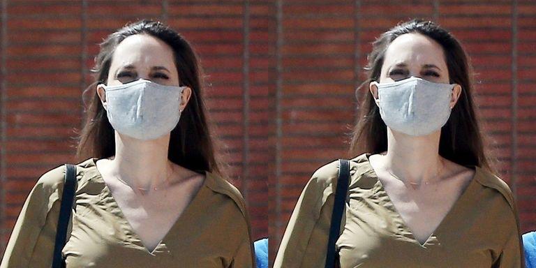 Angelina Jolie Memadukan Dior & Valentino Saat Pergi Belanja