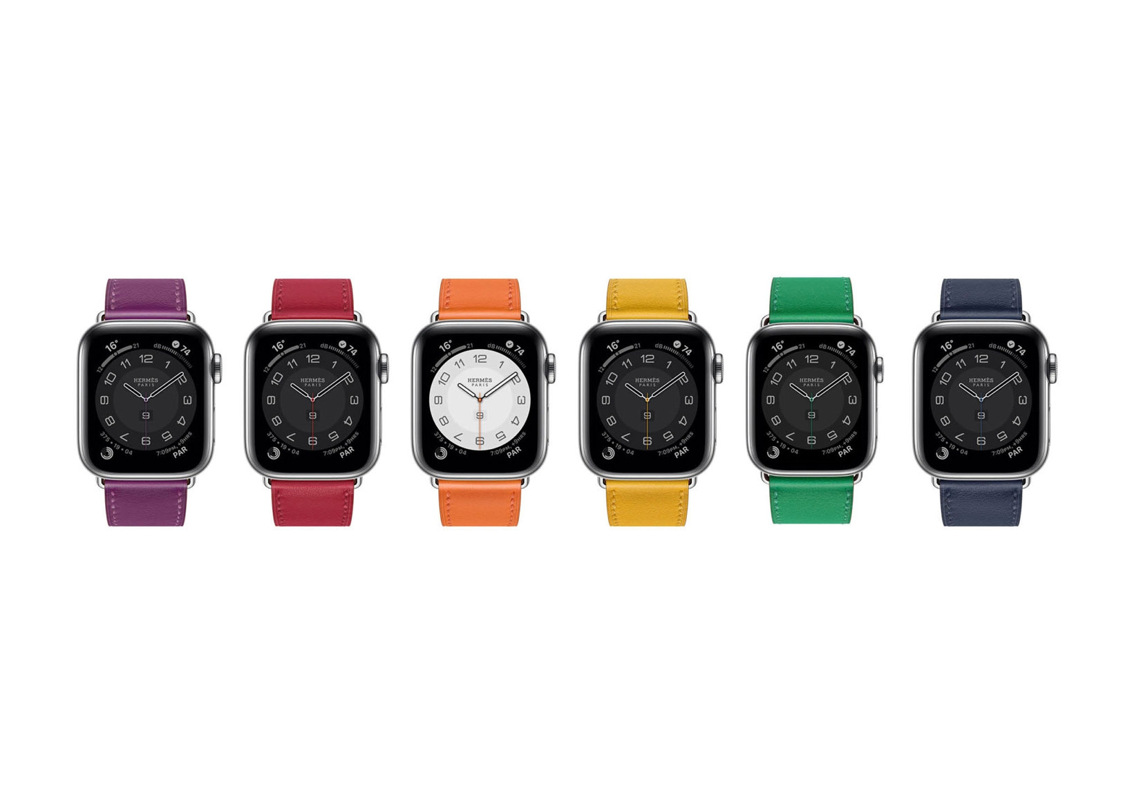 6 Warna Cerah di Koleksi Terbaru Apple Watch Hermès Series 6