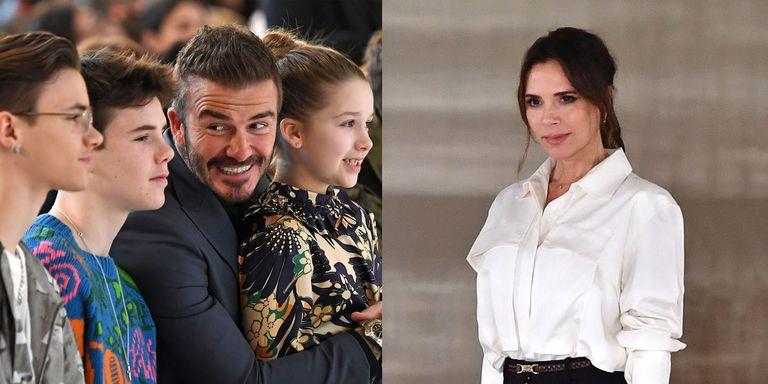 Lihat Kekompakan Keluarga Victoria Beckham di LFW 2020!