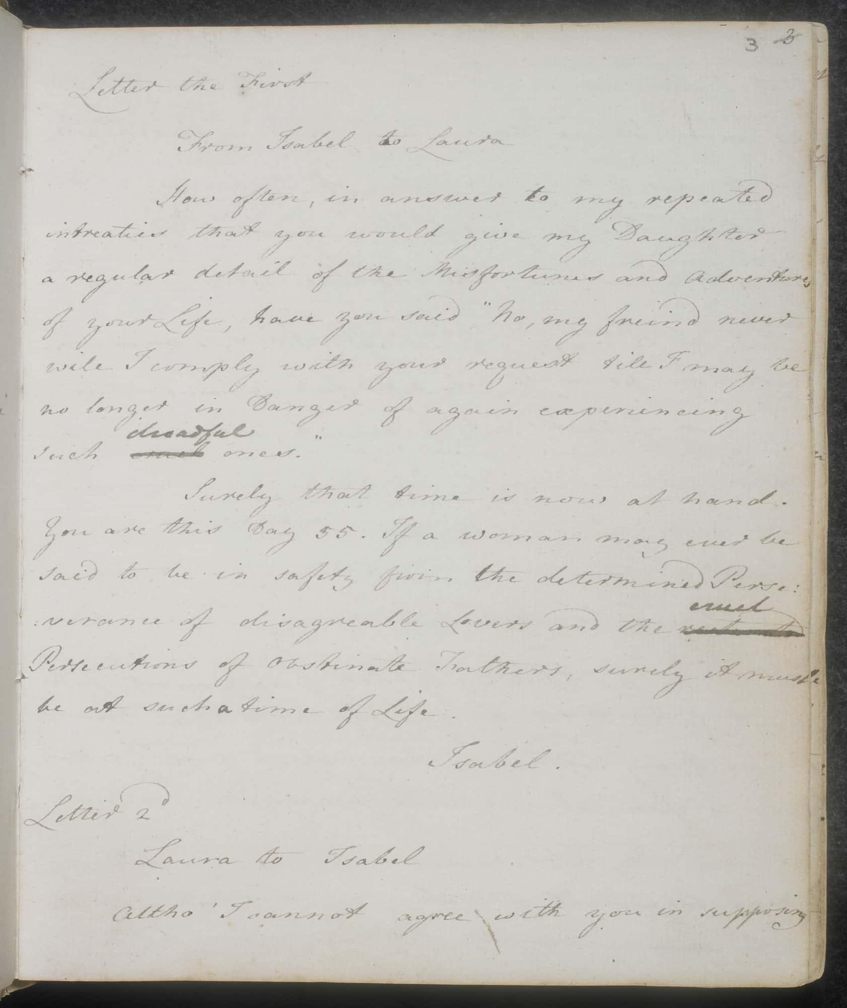 Volume dua (Juvenilia) / Foto: British Library