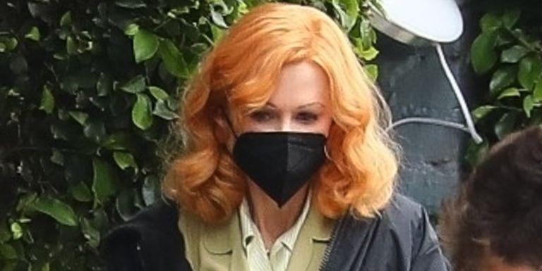 Lihat Transformasi Perdana Nicole Kidman yang akan Memerankan Karakter Lucille Ball di Film Being the Ricardos