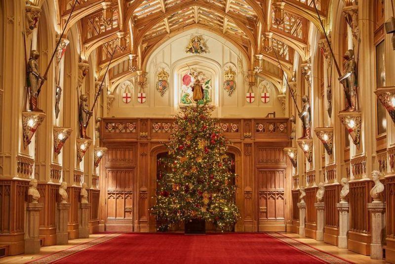 Ini Dekorasi Natal Istana Windsor Tahun 2020, Tampilannya Luar Biasa