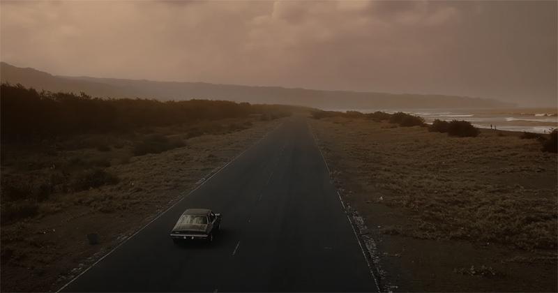Suasana perjalanan melukiskan kontemplasi dalam Leave & Goodbye