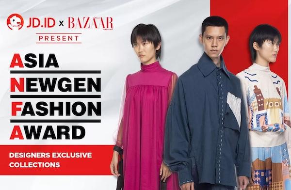 Kolaborasi Asia Newgen Fashion Award dengan JD.ID Fashion untuk Merayakan Talenta Para Desainer Muda