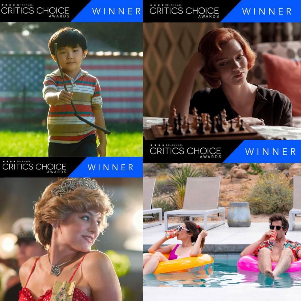 Daftar Lengkap Pemenang Critics Choice Awards 2021