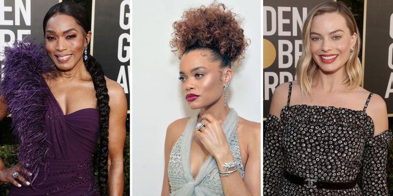 Melihat Tampilan Rambut dan Rias Wajah Terbaik dari Golden Globes 2021