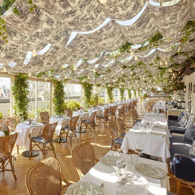 Dior Membuka Restoran Rooftop yang Terinspirasi dari Pemandangan Tepi Laut di London