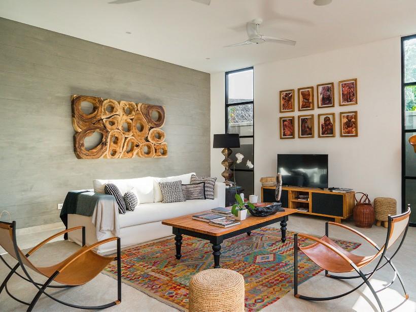 Living Room/Foto: Courtesy of Villa Boa