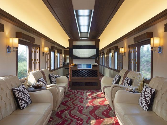 Kereta api privat dipersiapkan untuk tamu Journey Through Java