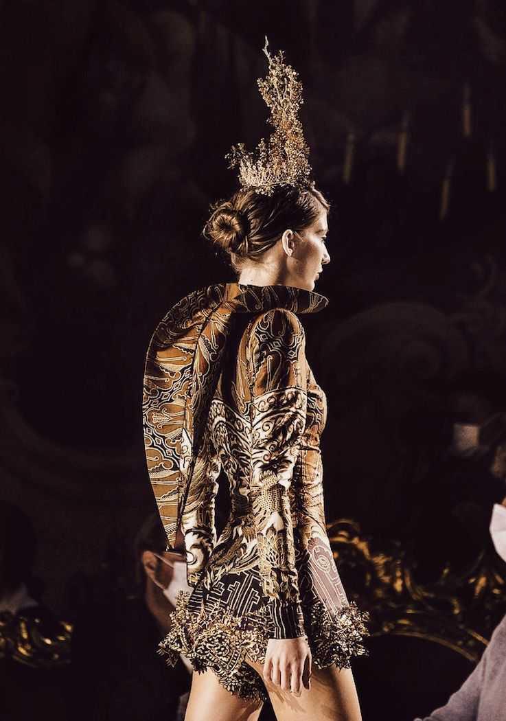 Label Fashion Indonesia Tampil di Milan Fashion Week, Ini Koleksinya