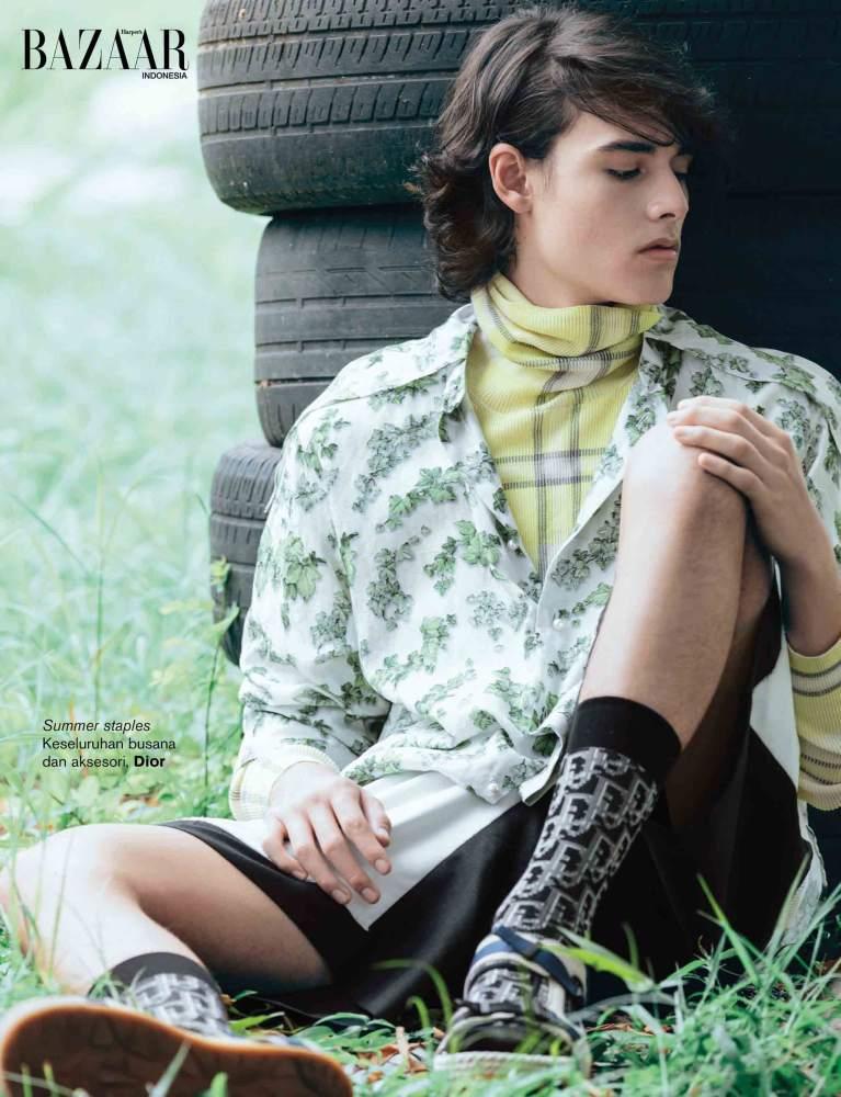 Hadi Cahyono for Harper's Bazaar Indonesia