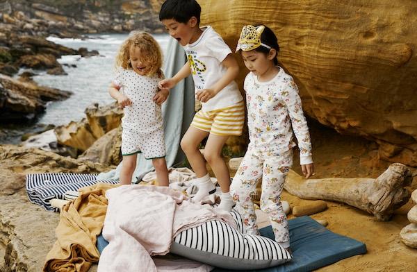 Untuk Koleksi Baju Anak di Musim Gugur, Petit Bateau Mengungkap Kebahagiaan di Tengah Hal Sederhana