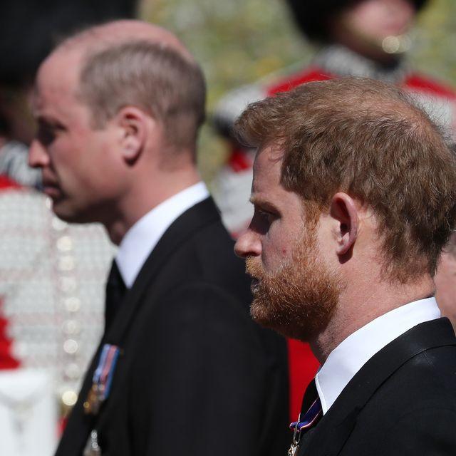 Pangeran Harry Bersatu Kembali dengan Pangeran William dan Kate Middleton pada Upacara Pemakaman Pangeran Philip