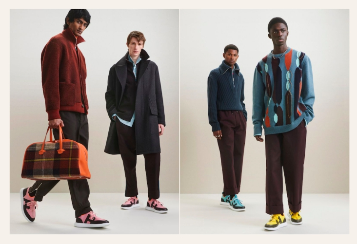 Presentasi Busana Pria Hermès Musim Fall/Winter 2021 Berelemen Sporty dan Loungewear