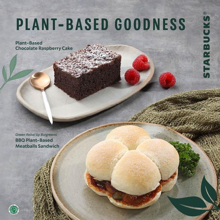 Menu plant based dari Starbucks