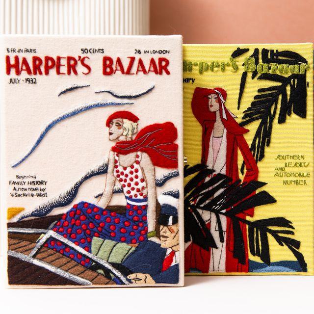 Uniknya Clutch Olympia Le-Tan yang Akan Merilis Clutch dengan Sampul Ikonis Harper's Bazaar