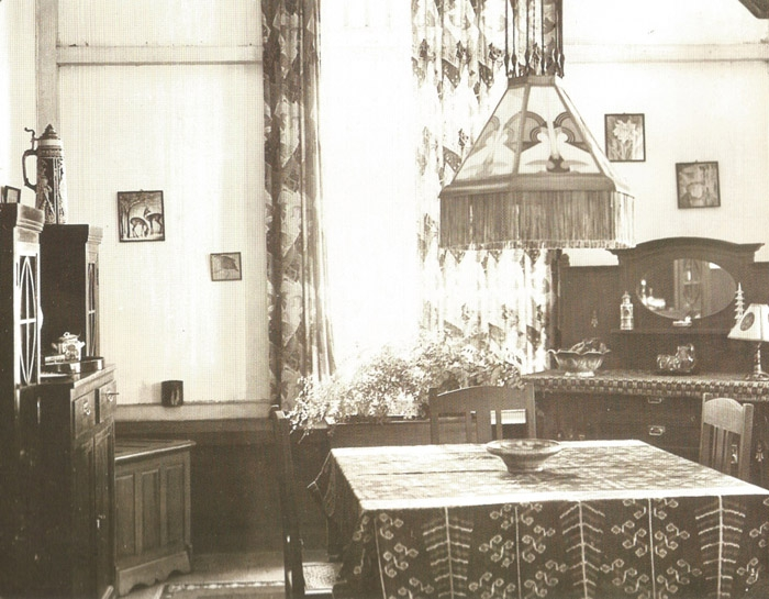 Interior Rumah Belanda di Bengkulu tahun 1935
