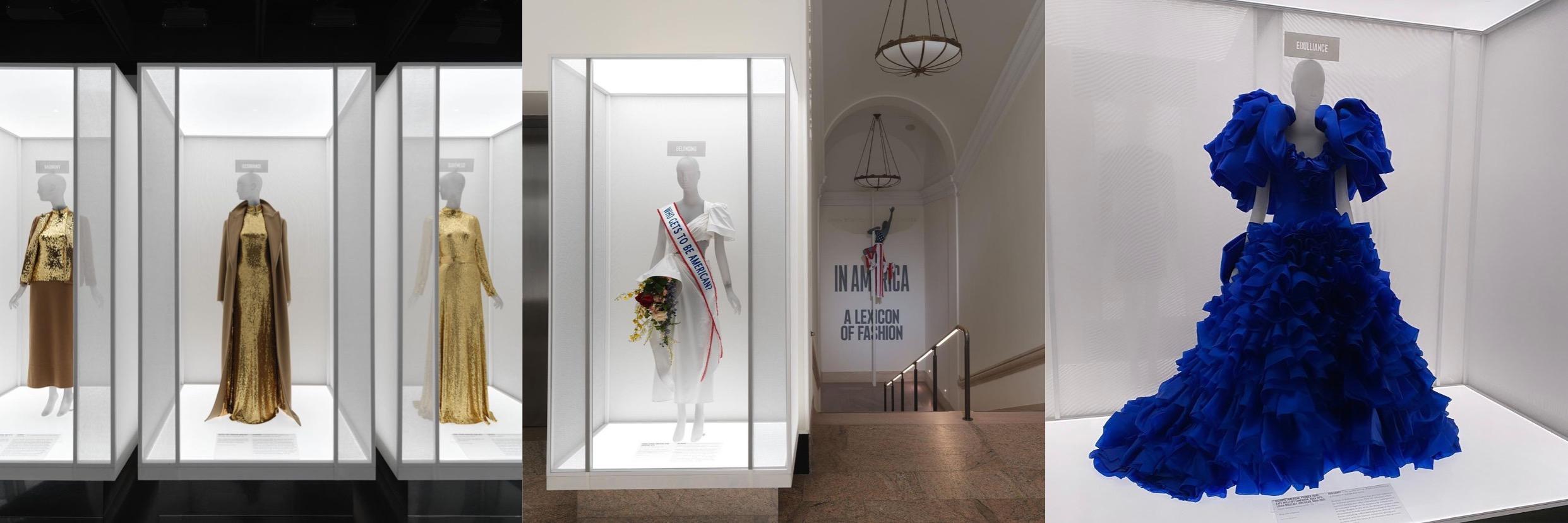(Pameran In America: A Lexicon of Fashion yang akan dibuka untuk umum pada Sabtu, 18 September 2021)